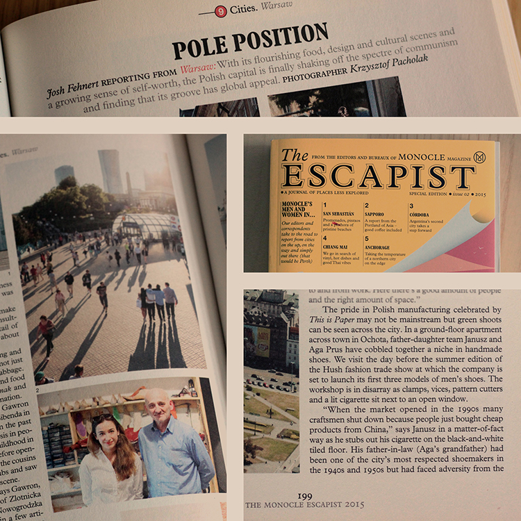 The Monocle Escapist 2015